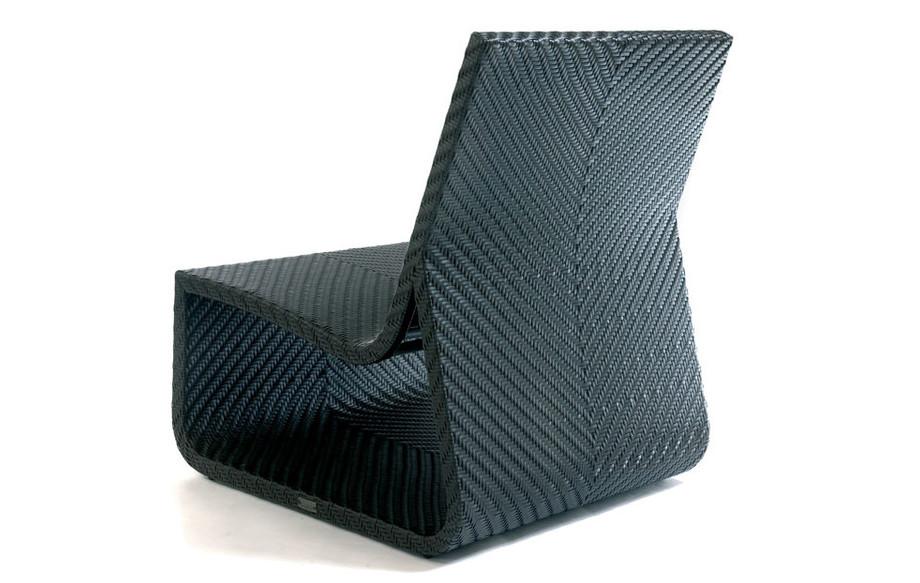 fauteuil de jardin summertime chair chocolat