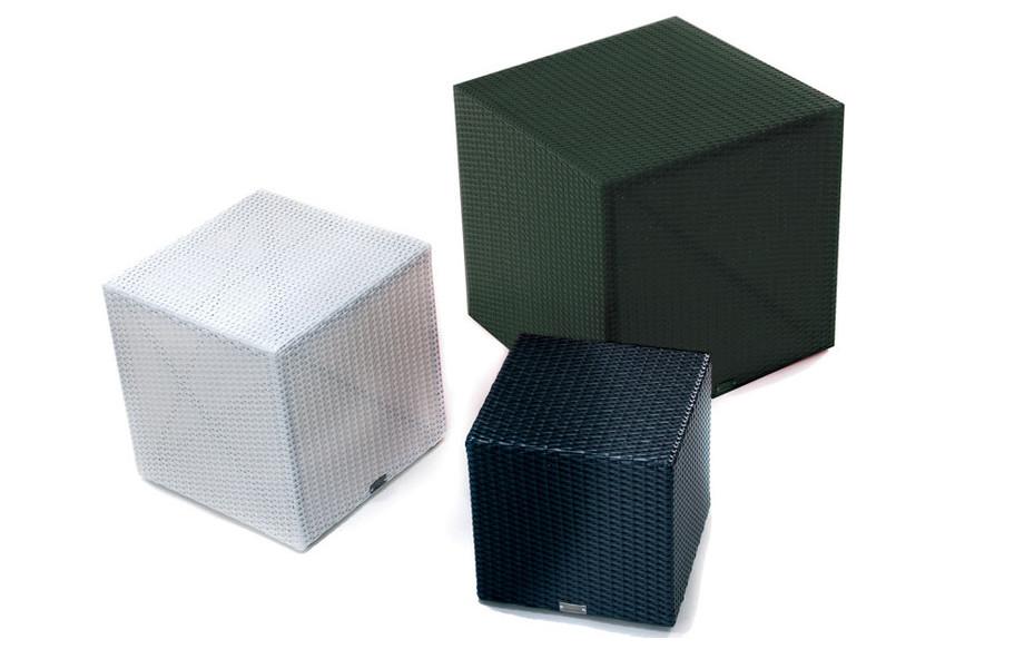 cubes Kubik en résine en situation