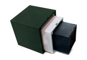 cube Kubik en résine emboitable