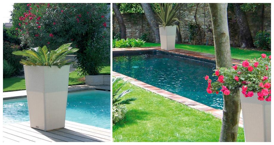 grand pot pour jardin conceptions de maison. Black Bedroom Furniture Sets. Home Design Ideas