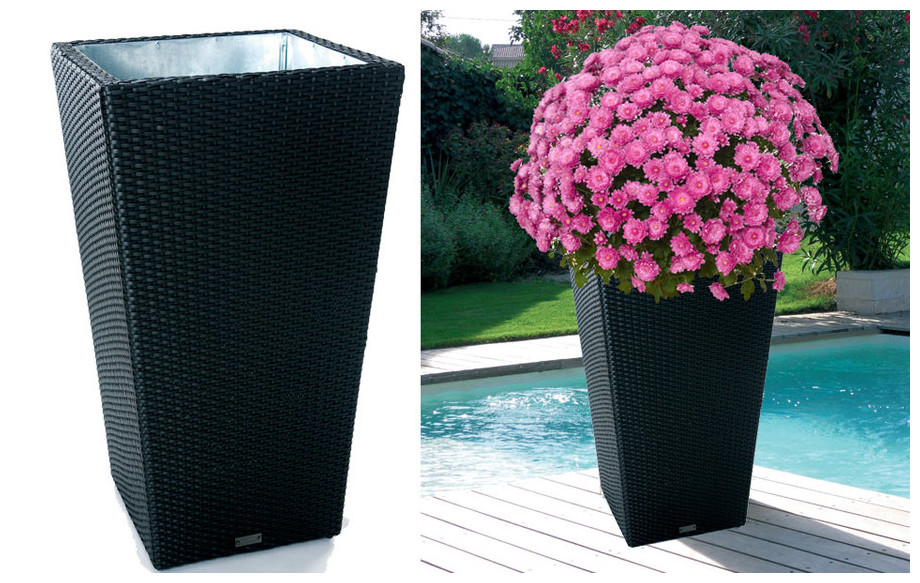 vase outdoor indoor pratique et design jardin. Black Bedroom Furniture Sets. Home Design Ideas