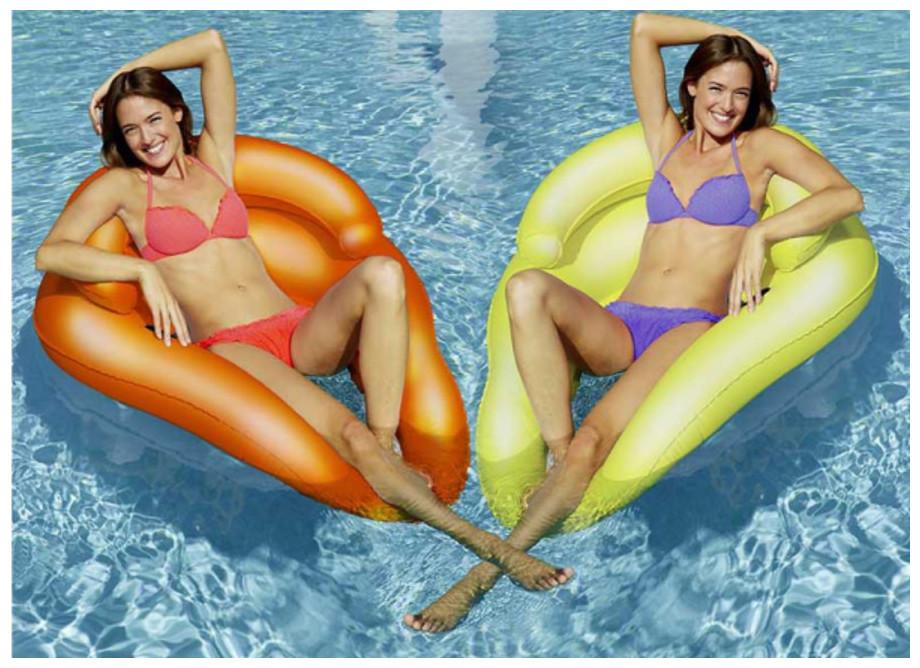 Lounger Hamac couleur Kerlis pour piscine