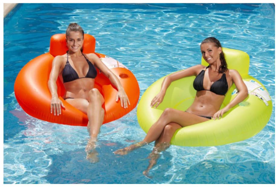 Siège Hamac Gonflable Orange Kerlis pour piscines