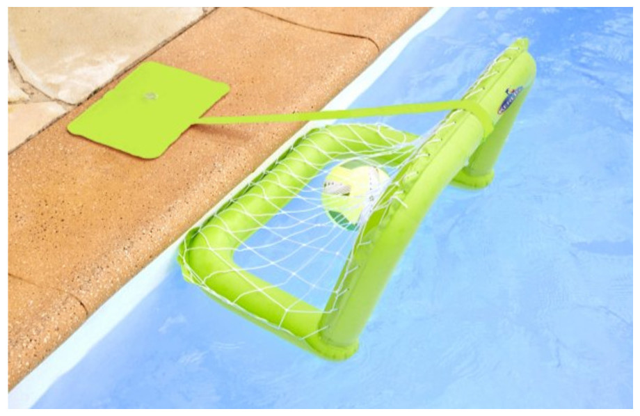Jeux gonflables kerlis mini cage flottante piscine for Piscine center