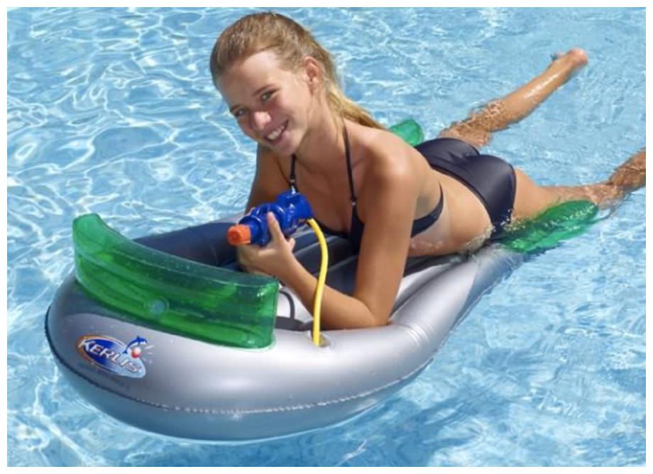 Surf avec canon Kerlis pour piscine