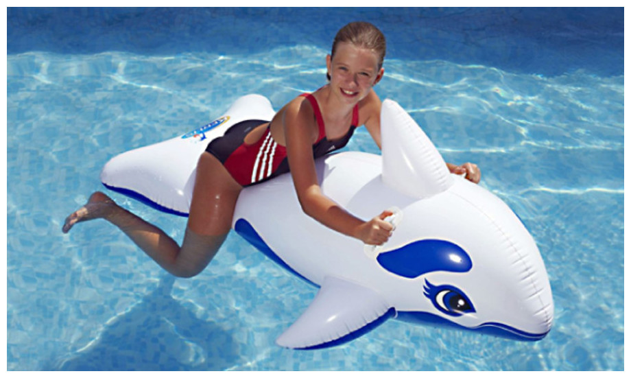 Dauphin gonflable Kerlis pour piscine