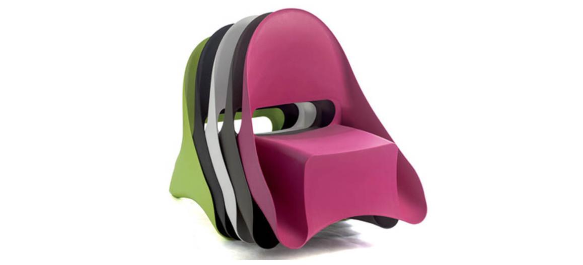 stockage des fauteuils ondule