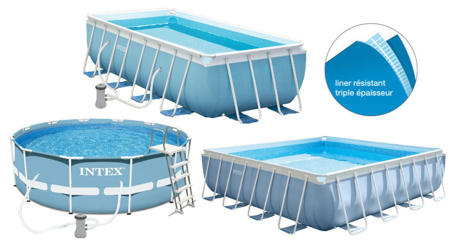 Intex piscine tubulaire piscine tubulaire ronde intex for Piscine intex 3 66 x 1 22
