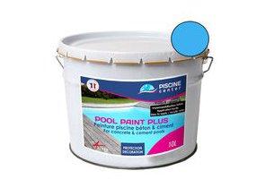 Couleur bleue de la peinture Pool Paint Plus