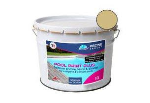 Couleur sable de la peinture Pool Paint Plus