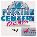 Logo Piscine Center by Arcane industries