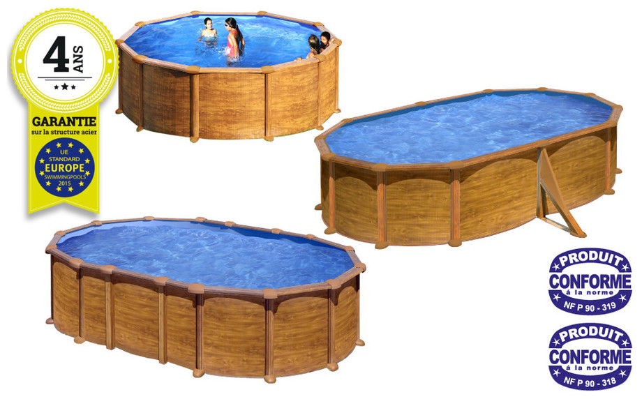 piscine de marque gr mauritius amazonia d cor bois piscine center net. Black Bedroom Furniture Sets. Home Design Ideas