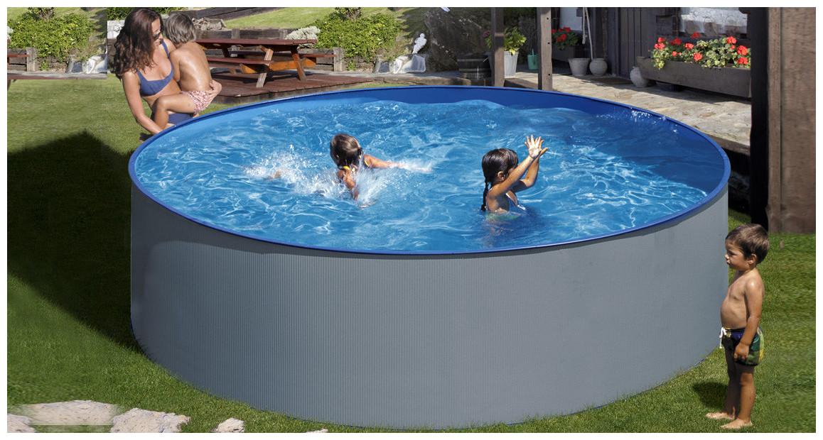 piscine hors sol en acier splasher tenerife par gré en situation