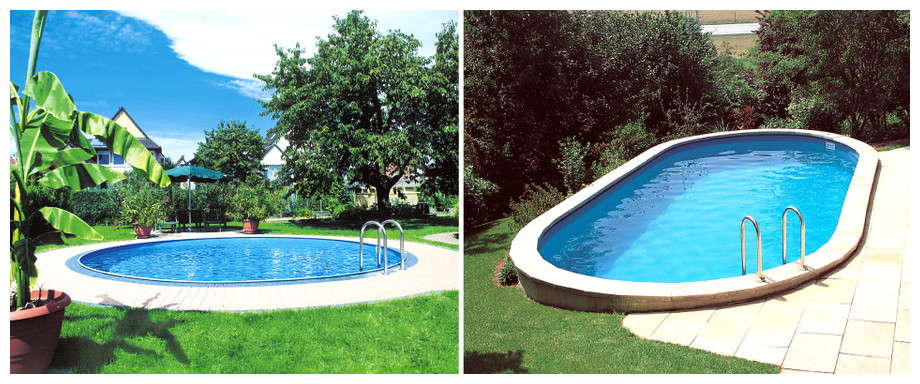 Piscine enterr e en kit tout quip e gr h120 cm piscine for Bac piscine a enterrer