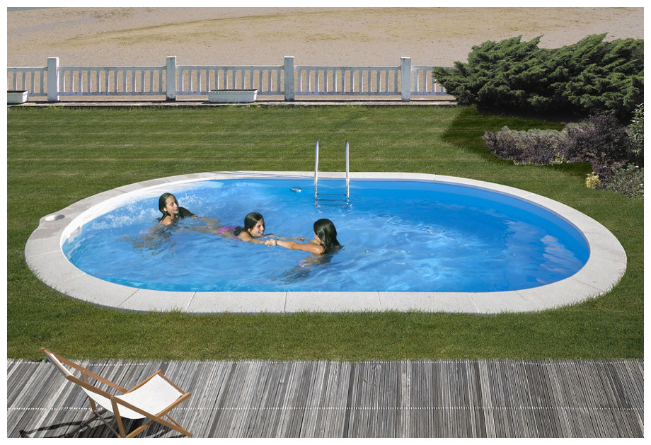 Piscine enterr e en kit tout quip e gr h120 cm piscine for Kit piscine enterree