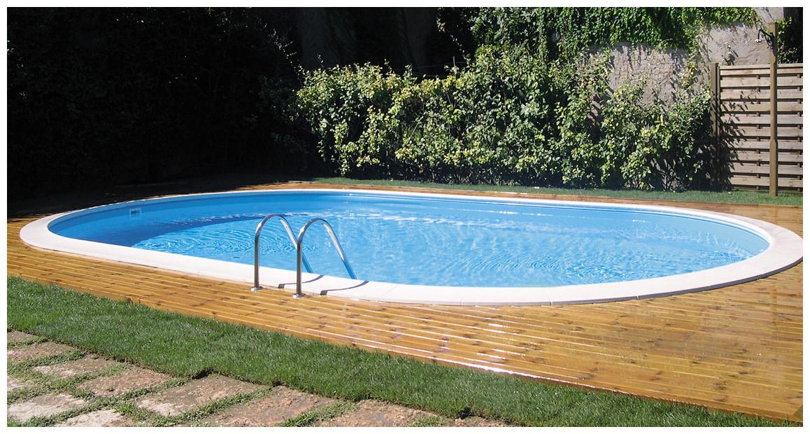 piscine enterrée en acier sumatra par gré