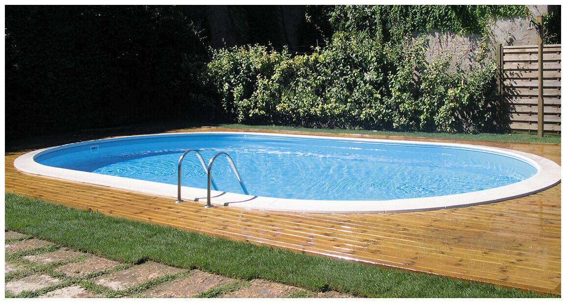 piscine acier enterrée sumatra en situation