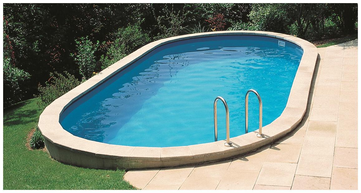 kit piscine en acier enterrée par gré