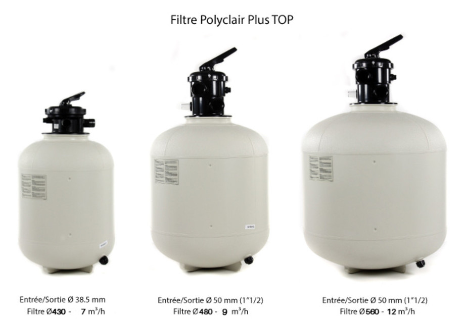 filtre à sable polyclair