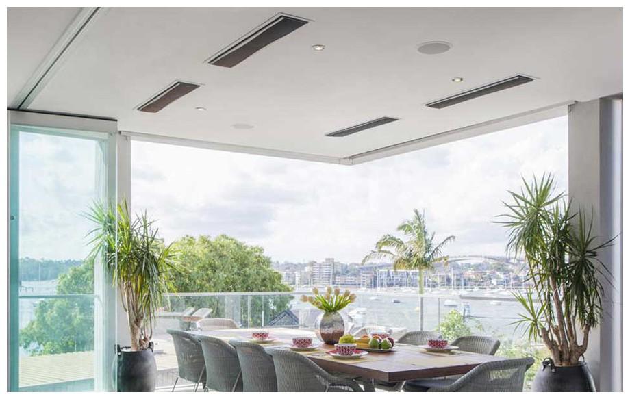 chauffage radiant platinium design et performant piscine center net. Black Bedroom Furniture Sets. Home Design Ideas