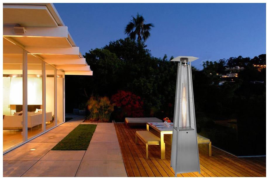 chauffage gaz pour terrasse chauffage extrieur chauffage. Black Bedroom Furniture Sets. Home Design Ideas