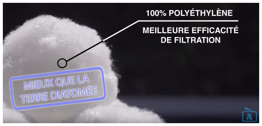 Aqualoon - Media filtrant pour filtre a sable - matériau