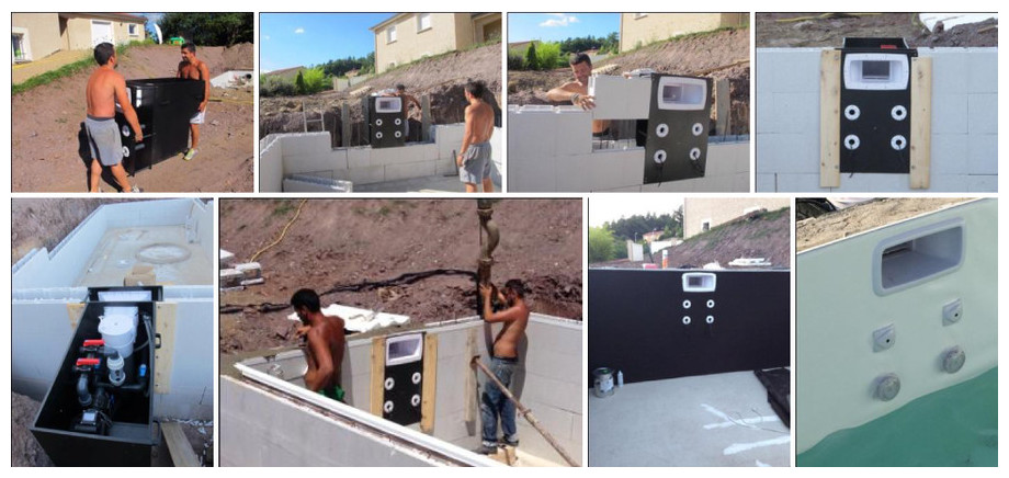 Mur filtrant tout-en-un Filtrinov GS14 - installation