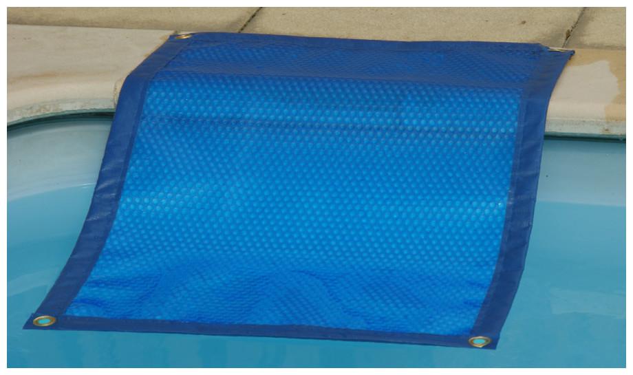Bâche à bulles standard prédécoupée 400µ bleu