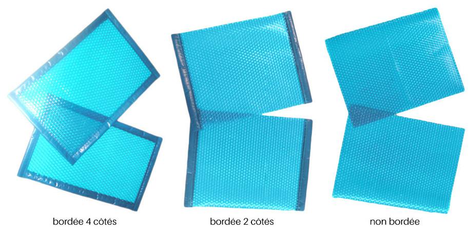 Bâche à bulles standard prédécoupée 500µ translucide