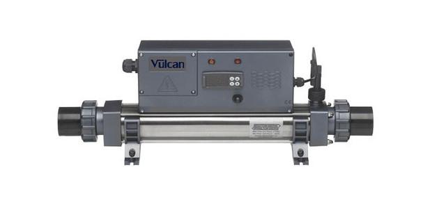 Vulcan electro digital rechauffeur pour piscine