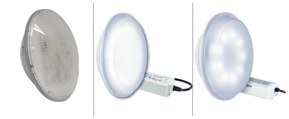 Lumiplus lampe led PAR56 blanche de remplacement pour piscine