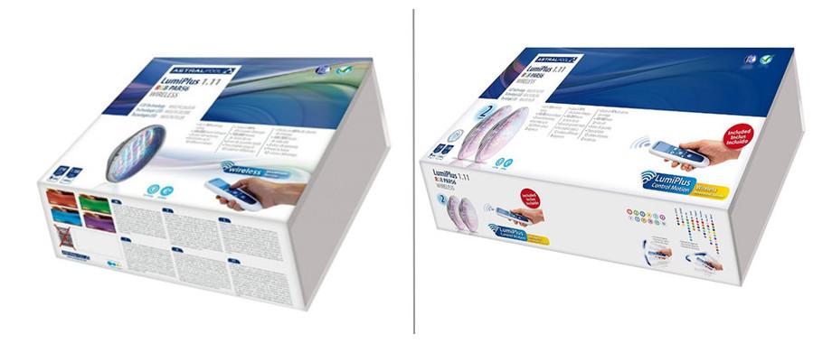 kit ampoule Led 1.11 RGB + télécommande sans fil