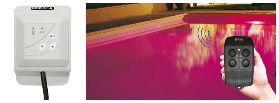 boitier de commande pour projecteur piscine Brio RC