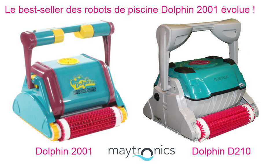 dolphin d210 le robot autonome et fiable piscine center net. Black Bedroom Furniture Sets. Home Design Ideas