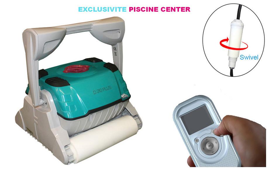 robot Dolphin D210 avec brosse mousse et télécommande