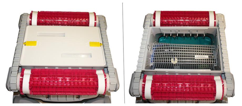 Descriptif robot de nettoyage de piscine Dolphin D210 PLUS brosse combinée