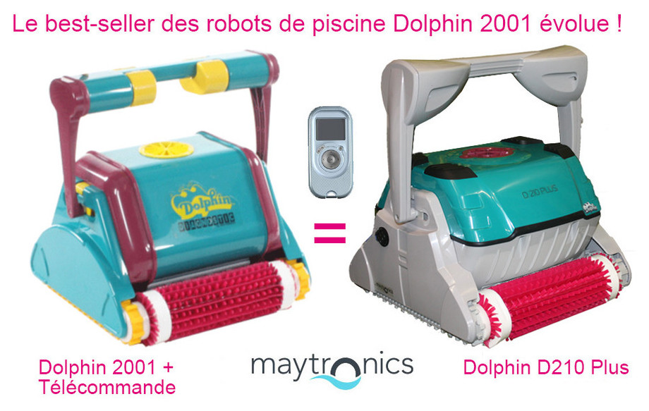 robot Dolphin 2001 et D210