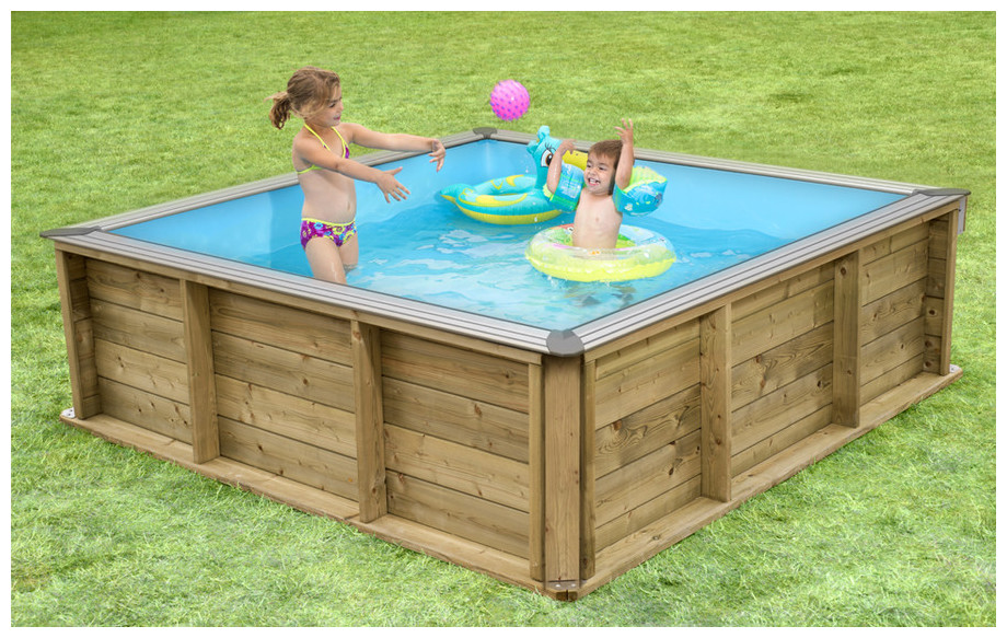 piscine bois Pistoche pour enfants en situation