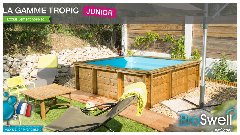 piscine bois tropic junior