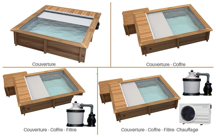 équipement piscine bois proswell