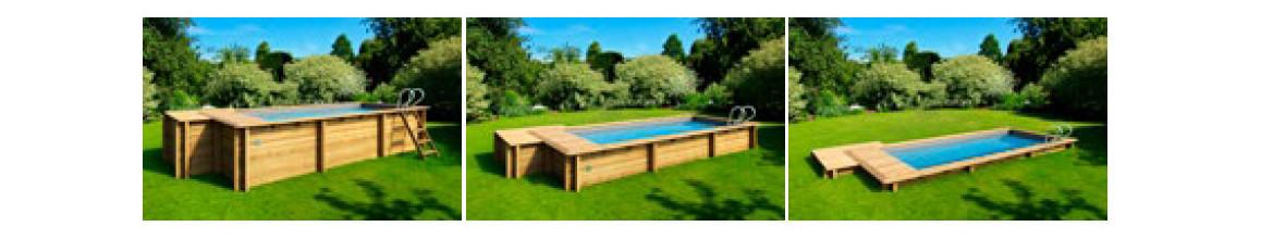 installation de la piscine urbaine proswell xl