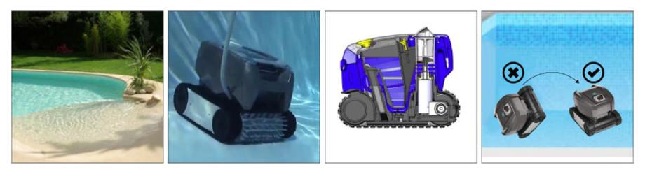 Robot de piscine TornaX OT 3200 par Zodiac - 4 systèmes de sécurité pour un fonctionnement optimal !