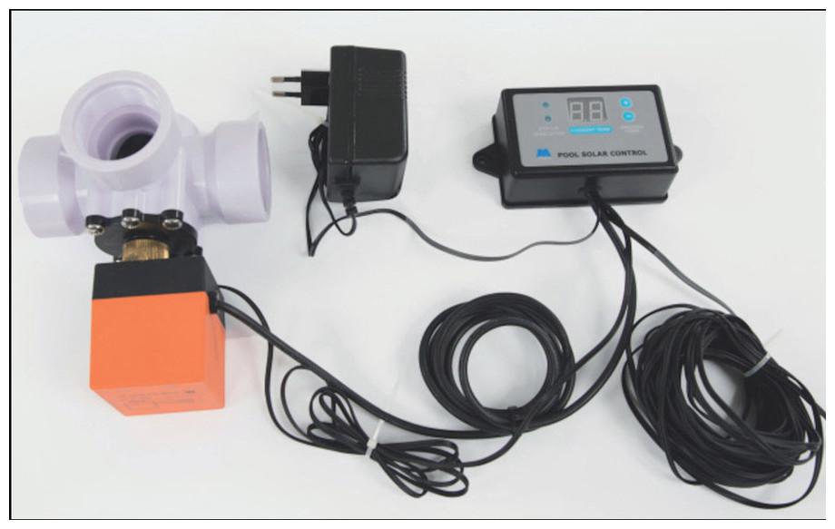vanne thermostatique 3 voies pour chauffage solaire