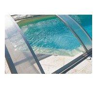 abri de piscine - trappe zoom
