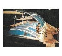 abri amovible piscine - trappe echelle