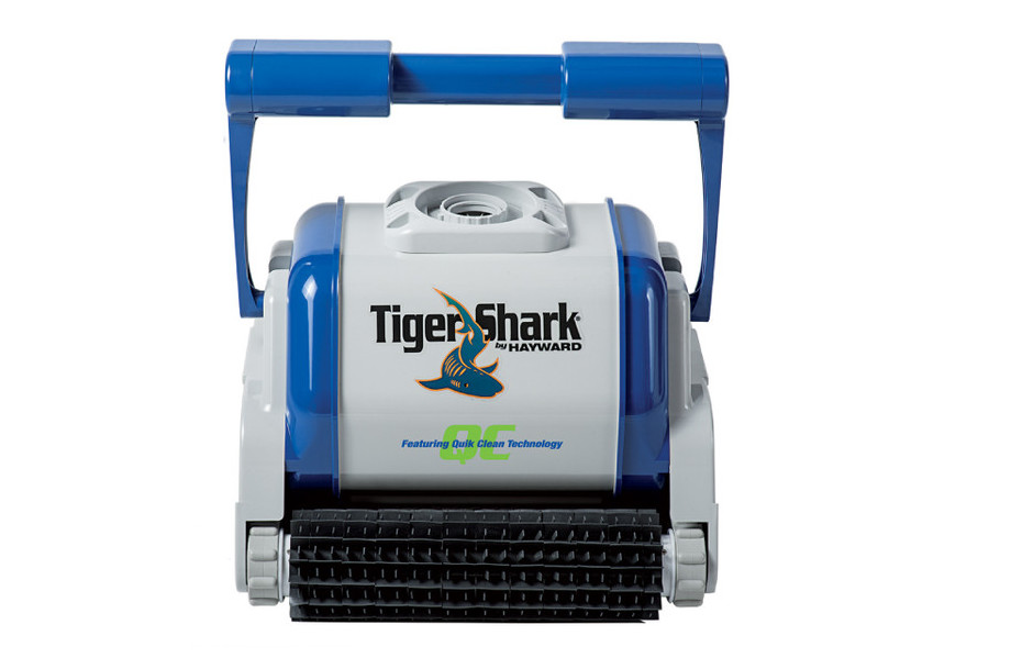 robot piscine tiger shark quick clean