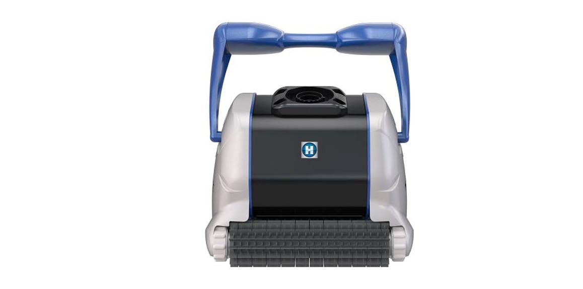 détails du robot de piscine new tiger sharq qc brosse picots
