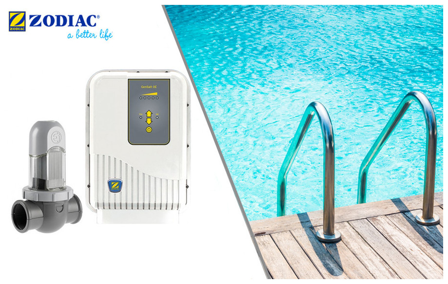 électrolyseur au sel de piscine gensalt zodiac