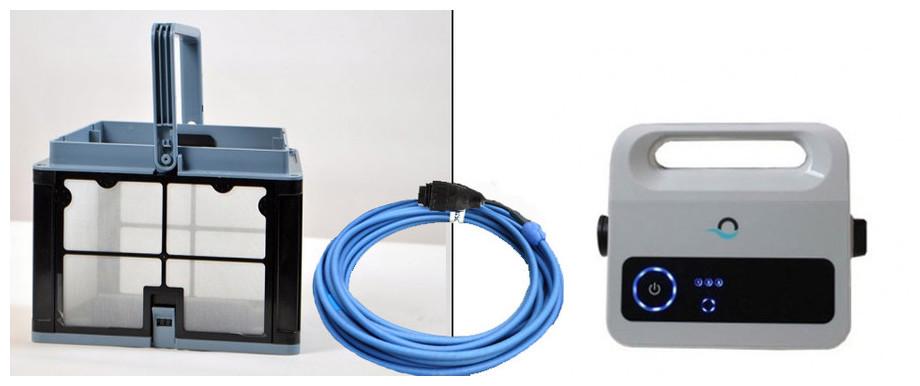 équipement complet du robot électrique piscine Dolphin E25