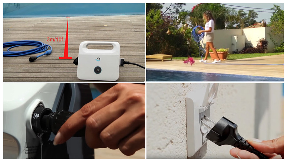 conseil de sécurité du robot de piscine Dolphin e25